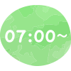 7:00〜